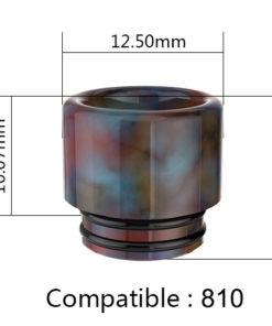 810 Fumitech Resin Drip Tip